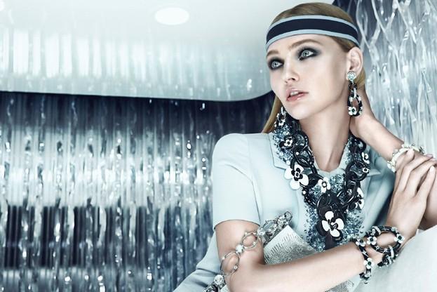 Sasha Pivovarova is Sporty Glam for Prada's Resort 2013 Campaign by Steven Meisel
