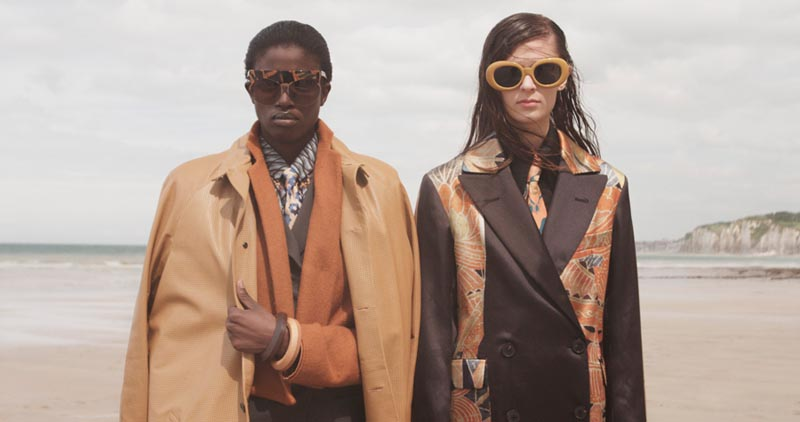 Suzie Q + Leo Siboni Lens Emilia Nawarecka and Awa Ceesay for Under the Influence A/W 2012
