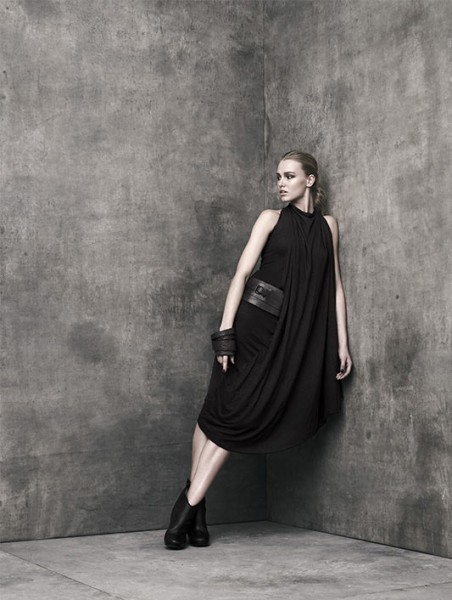 "Donna Karan's Urban Zen Fall 2012 ""Reflections"" Collection"