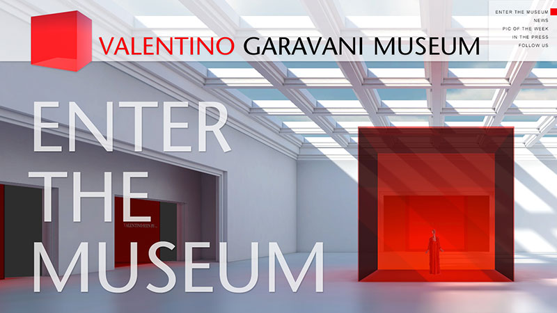 Valentino Garavani Virtual Museum Launches New Site
