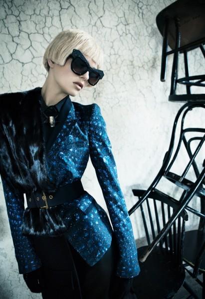 Ilda Lingdqvist Exudes Pure Elegance for Plaza Magazine by Ceen Wahren