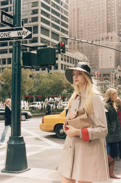 Nastya Kusakina Hits the New York City Streets for Club Monaco's Spring 2013 Campaign