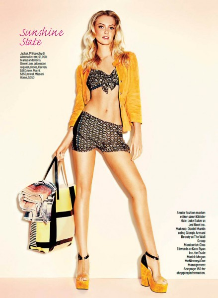 Francisco Garcia Captures Resort Style for Cosmopolitan's January Issue