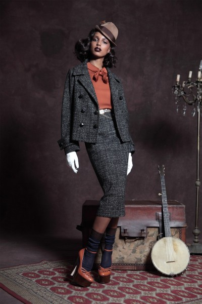 DSquared2's Pre-Fall 2013 Collection is Retro Glam