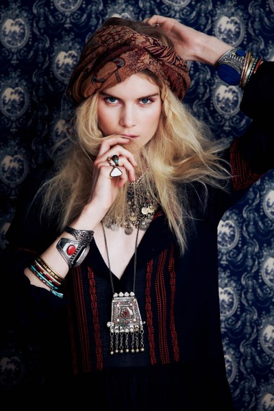 Elsa Sylvan Has Wanderlust for Free People's December Lookbook