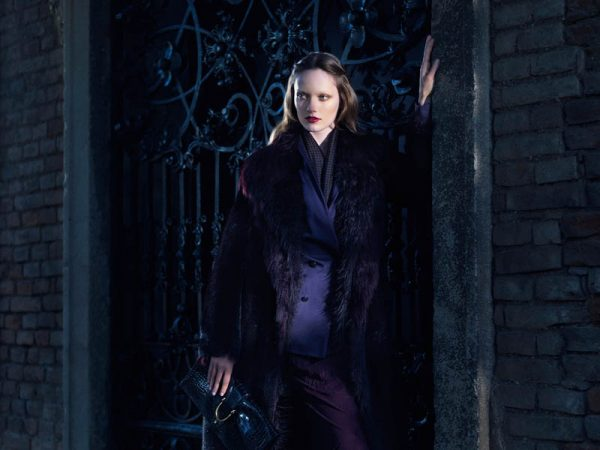 Karmen Pedaru and Nadja Bender Are Gothic Chic for Gucci Style Fall/Winter 2012 by Benjamin Grillon