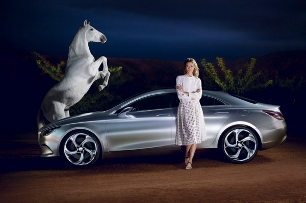 Karlie Kloss Tapped for Mercedes-Benz Fashion F/W 2013 Campaign, Shot by Ryan McGinley