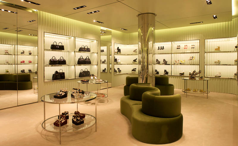 Prada Opens New Store in Miami's Design District