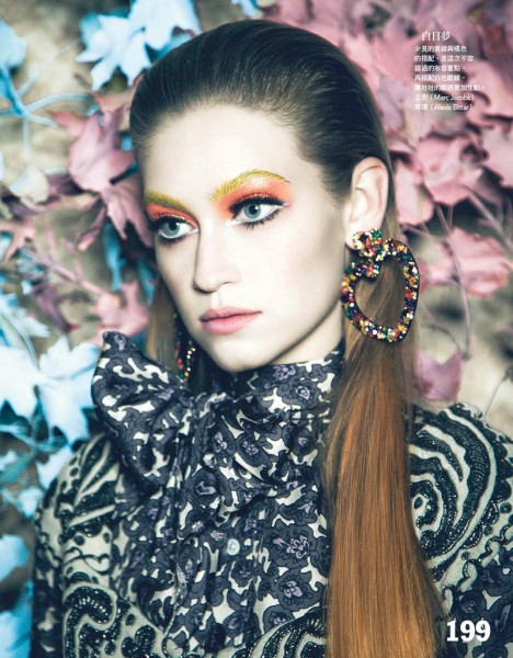 Shane Seng Gets Dolled Up for Vogue Taiwan by Yossi Michaeli