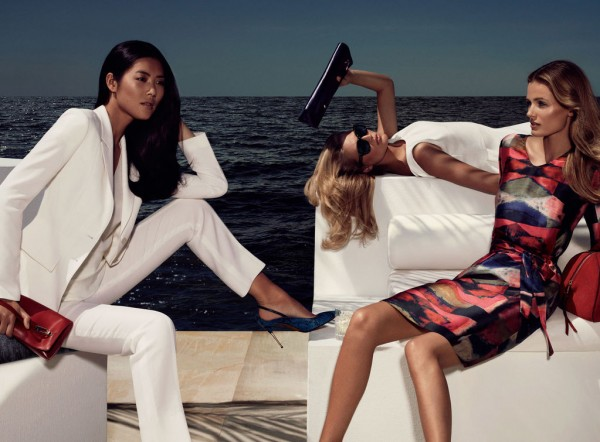 Edita Vilkeviciute, Liu Wen and Toni Garrn Go to The Hamptons for Hugo Boss Black's Spring 2013 Campaign by Mikael Jansson