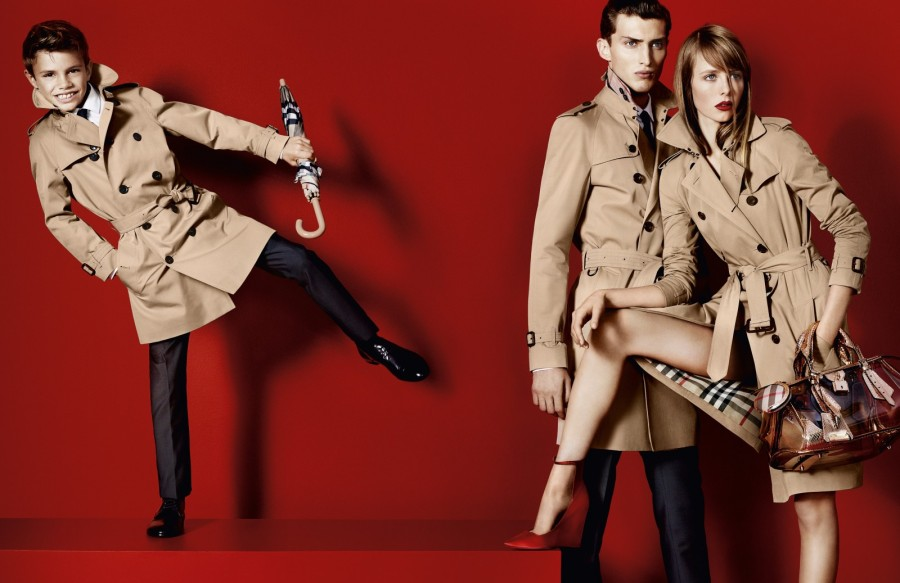 Edie Campbell Lands Burberry's Spring 2013 Campaign, Shot by Mario Testino