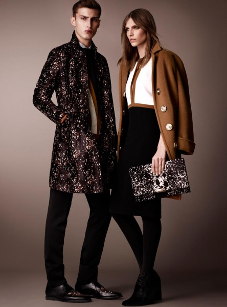 burberry1 444x600 Burberry Pre Fall 2013 Collection