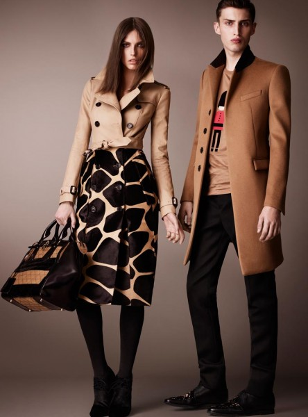 burberry10 444x600 Burberry Pre Fall 2013 Collection