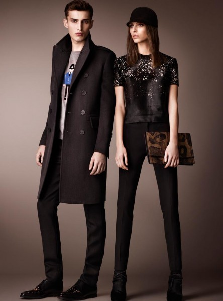 burberry13 444x600 Burberry Pre Fall 2013 Collection