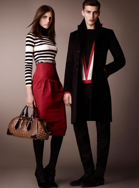 burberry19 444x600 Burberry Pre Fall 2013 Collection