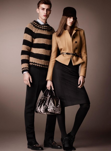 burberry2 444x600 Burberry Pre Fall 2013 Collection