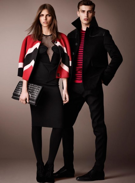 burberry20 444x600 Burberry Pre Fall 2013 Collection