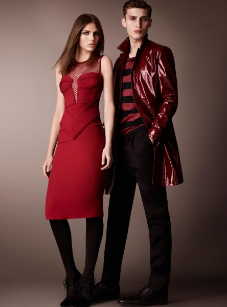 burberry21 444x600 Burberry Pre Fall 2013 Collection
