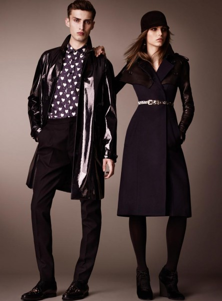 burberry26 444x600 Burberry Pre Fall 2013 Collection