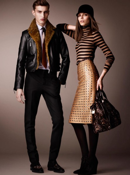 burberry3 444x600 Burberry Pre Fall 2013 Collection