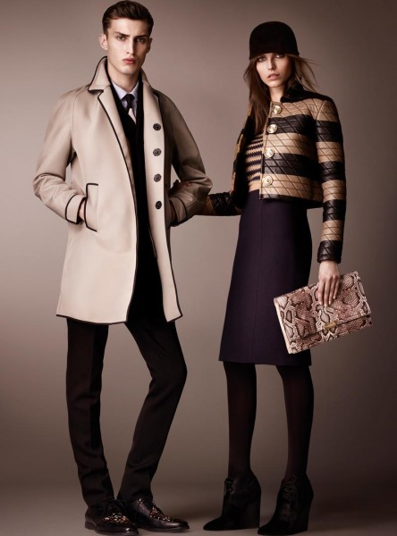 burberry7 444x600 Burberry Pre Fall 2013 Collection