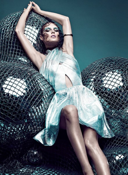 Chris Nicholls Captures Star Style for Flare's January Issue