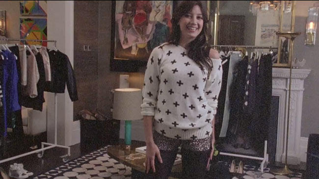 Daisy Lowe Selects Party Looks from H&M in New Video