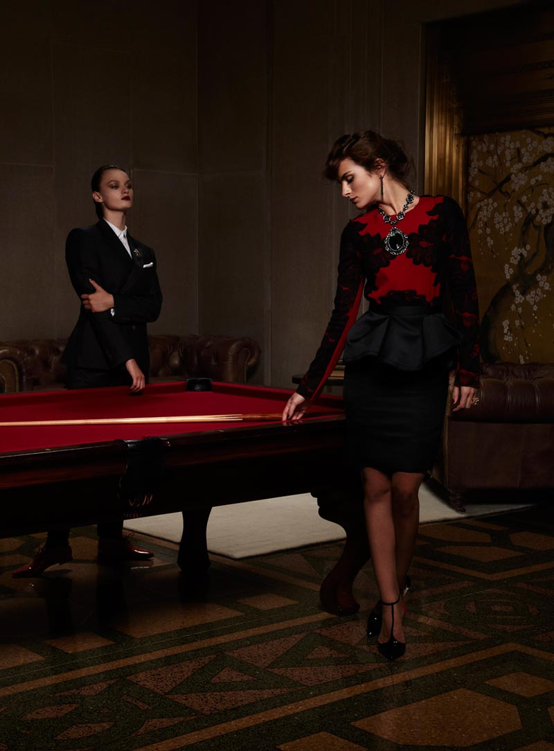Ali Lagarde and Liliane Ferrarezi Enchant in Han Neumann's Vogue Latin America Shoot