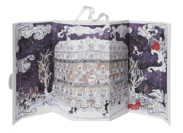 dior printemps4 600x436 Dior for Printemps Christmas 2012 Collection