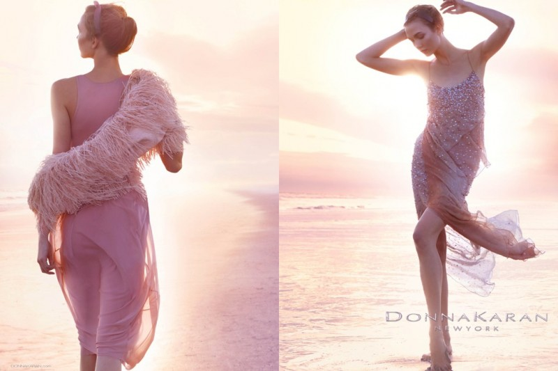 Karlie Kloss is Ethereal in Donna Karan's Spring 2013 Campaign by Patrick Demarchelier
