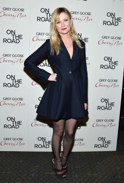 "Kirsten Dunst in Dior at the ""On the Road"" New York Premiere"