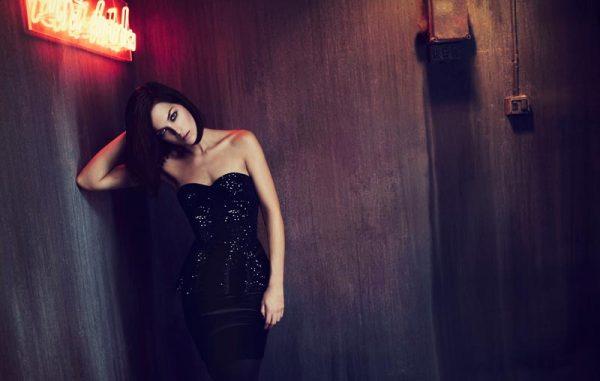 Leigh Lezark Stars in Stradivarius' Christmas 2012 Campaign