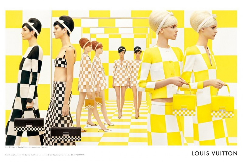 Louis Vuitton's Spring 2013 Campaign Has Us Seeing Double