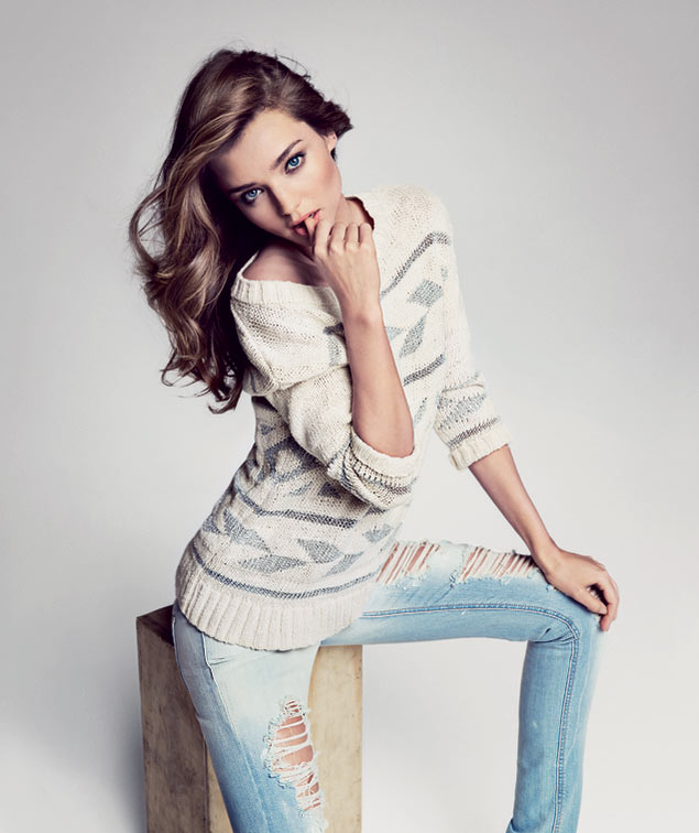 Miranda Kerr Sizzles in First Look of Mango's Spring 2013 Campaign by Inez & Vinoodh