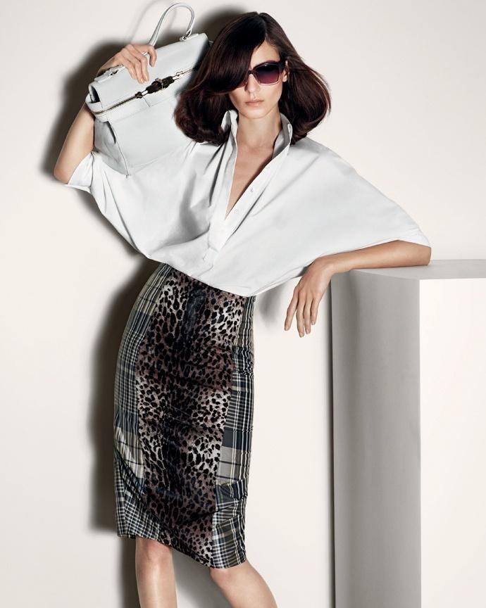 Kati Nescher Stars in Max Mara's Spring 2013 Campaign by Mario Sorrenti