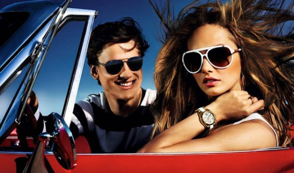 Karmen Pedaru Lives Life in the Fast Lane for Michael Kors' Spring 2013 Campaign