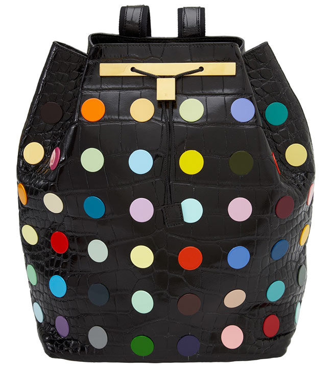 Damien Hirst and The Row Collaborate on Decorated Backpacks for Just One Eye