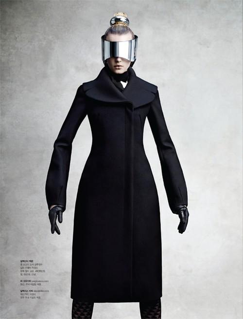 Sigrid Agren Wears Futuristic Outerwear for S Magazine