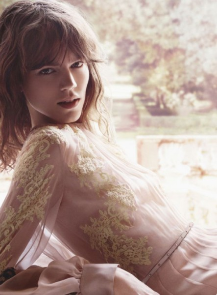 "Freja Beha Erichsen is Tapped for Valentino's ""Valentina Acqua Floreale"" Fragrance Campaign"