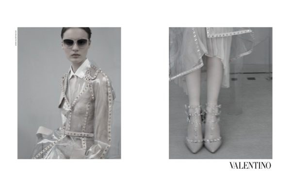 Valentino Taps Tilda Lindstam for its Spring 2013 Campaign by Sarah Moon