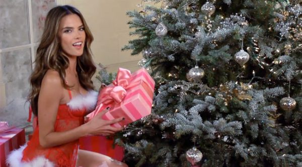 Victoria's Secret Angels Sing 'Deck the Halls' in Holiday Film