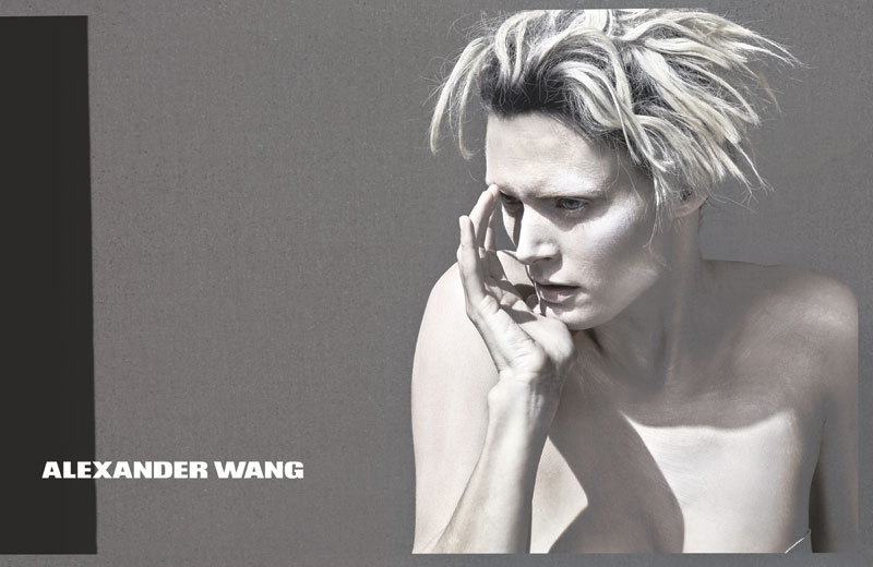 Alexander Wang Releases Teasers for Spring 2013 Campaign Starring Malgosia Bela