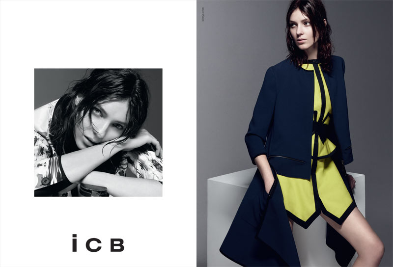 Kati Nescher Fronts iCB Spring 2013 Campaign by Daniel Jackson