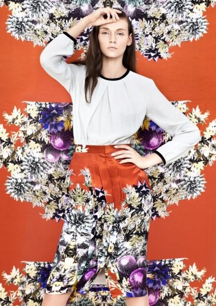 Blame's Spring 2013 Collection Embraces Vivid Prints