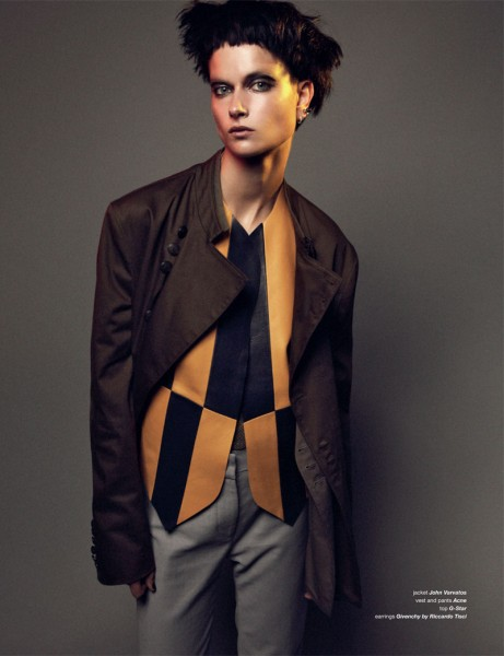 Bo Don Gets Androgynous for Zoo Magazine #37 by Dancian