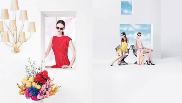 Dior Puts Daria Strokous, Daiane Conterato and Others on Display for its Spring 2013 Campaign by Willy Vanderperre