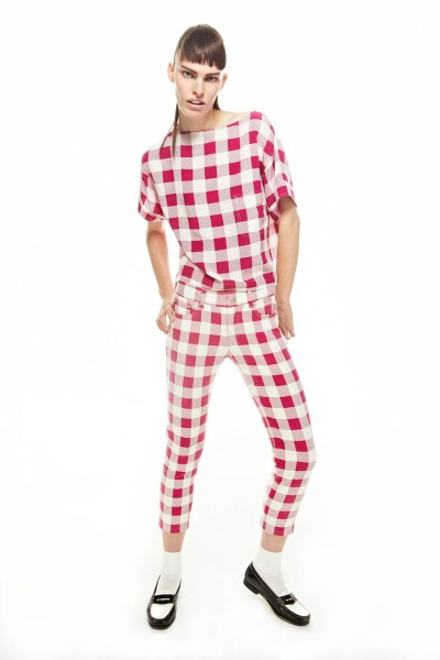 FriendsSpring16 400x600 Friends & Associates Offers Gingham Prints for its Spring 2013 Collection