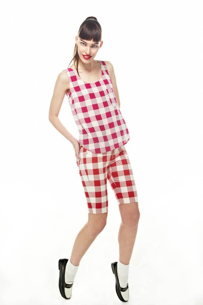 FriendsSpring20 400x600 Friends & Associates Offers Gingham Prints for its Spring 2013 Collection