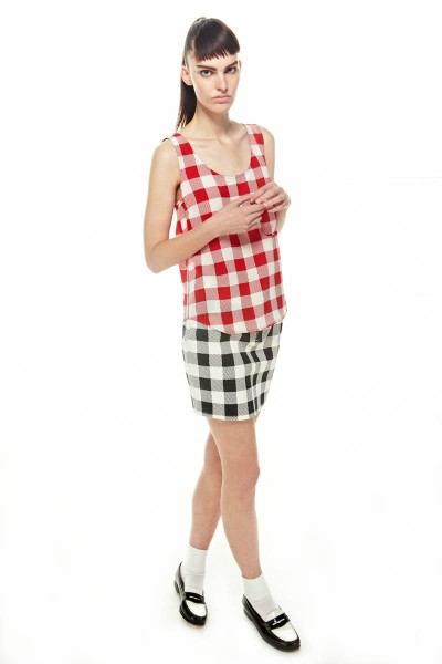 FriendsSpring27 400x600 Friends & Associates Offers Gingham Prints for its Spring 2013 Collection