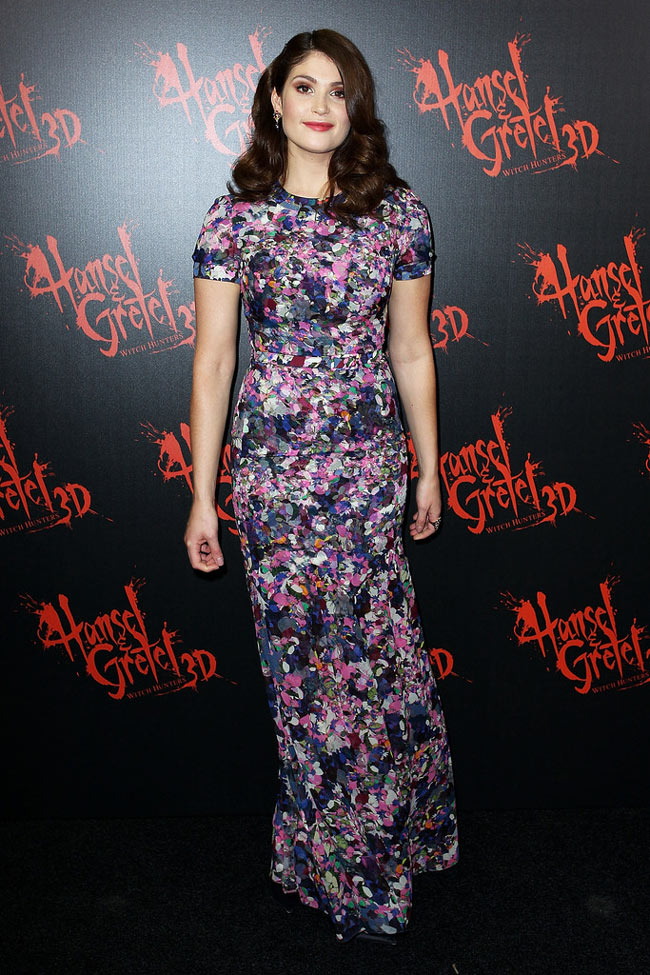 "Gemma Arterton in Erdem at the ""Hansel & Gretel Witch Hunters"" Sydney Premiere"